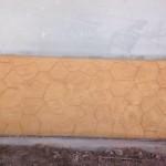 hormigon impreso vertical - zocalo en chalet (2)