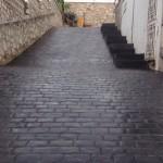 pavimento impreso - acceso a chalet (4)